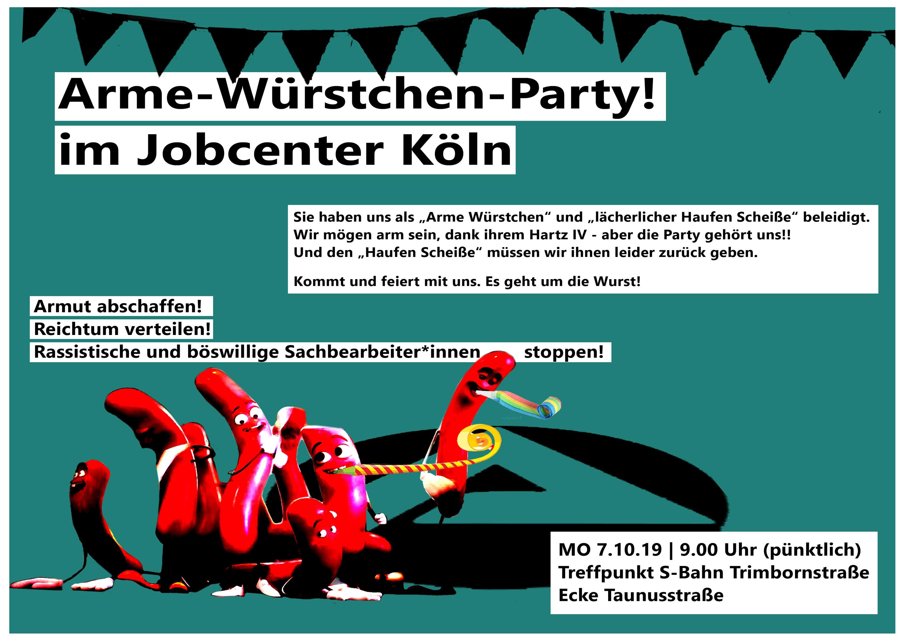 Flyer Partyeinladung Vorderseite